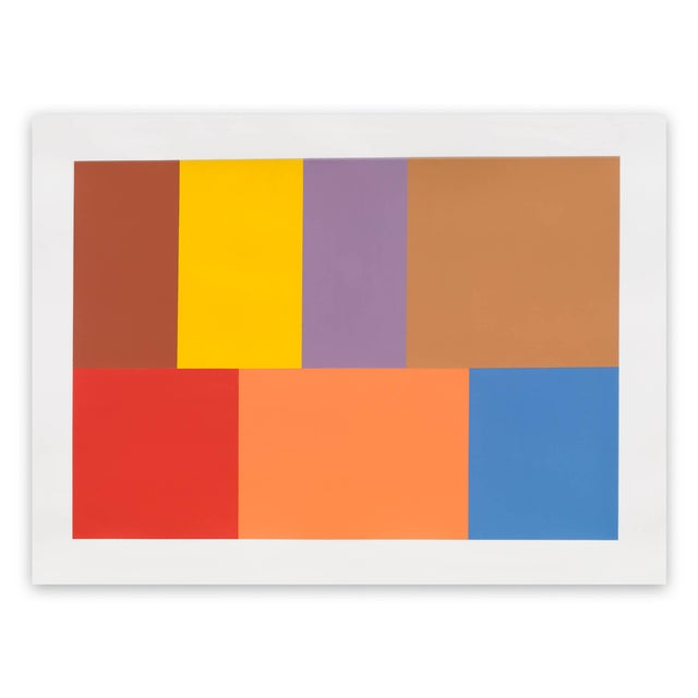 "Tom McGlynn Tom McGlynn ""Test Pattern 7 (Siena)"", Painting For Sale - Image 4 of 4"