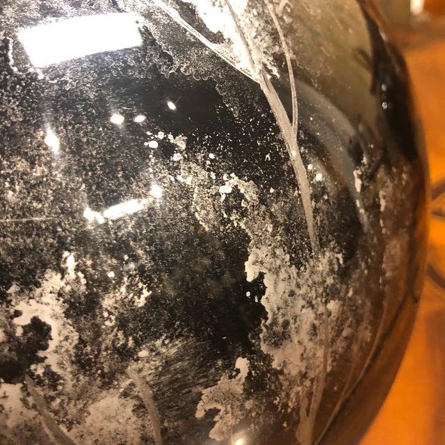 Ceramic Black Lacquered Ceramic Vase For Sale - Image 7 of 10