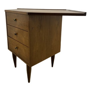 Mid-Century Modern Corner Chest For Sale