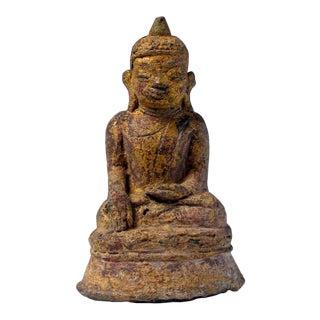 Antique Burmese Bronze Buddha, Shan States For Sale