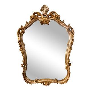 Vintage Florentine Wall Mirror For Sale