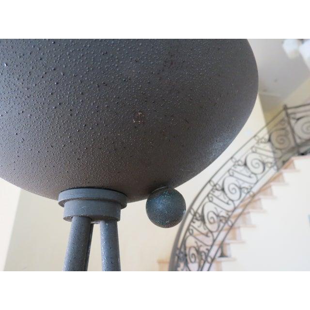 Koch & Lowy Torchiere Floor Lamp - Image 5 of 11