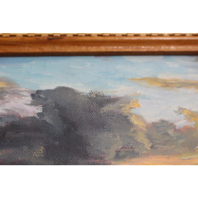 John De Ponce Hawaiian Sunset Landscape Painting - Image 9 of 11