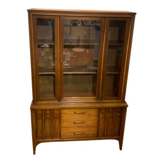 1960s Kent Coffey Perspecta China Cabinet For Sale