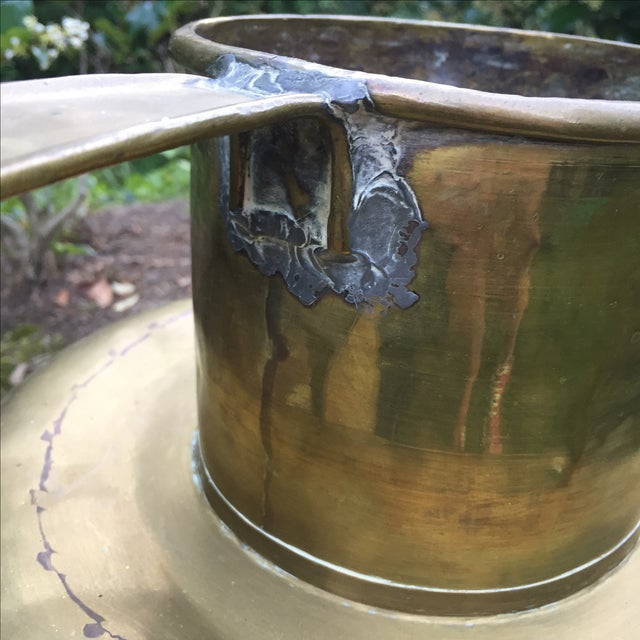 Antique Copper & Brass Hammered Water Jug - Image 8 of 11