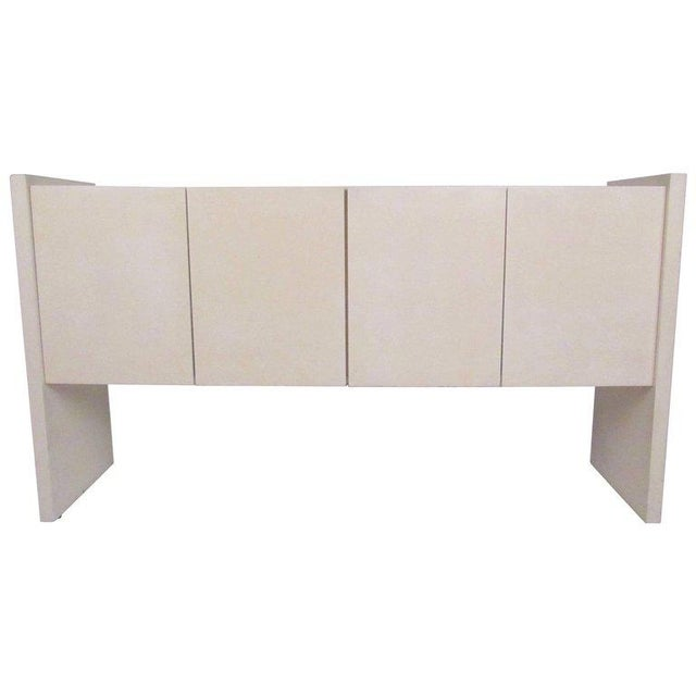 Mid-Century Lacquered Lucite Credenza by Milo Baughman For Sale - Image 11 of 11