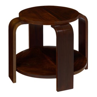 Art Deco Period Walnut Gueridon