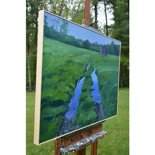 """""""Ruts in the Field to the Chicken Coop"""" Painting For Sale - Image 9 of 12"""
