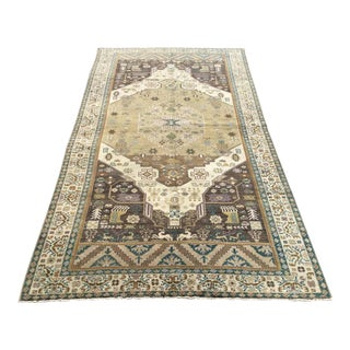 Vintage Oushak Rug For Sale