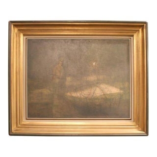 Oil on Board by Armand Merison For Sale