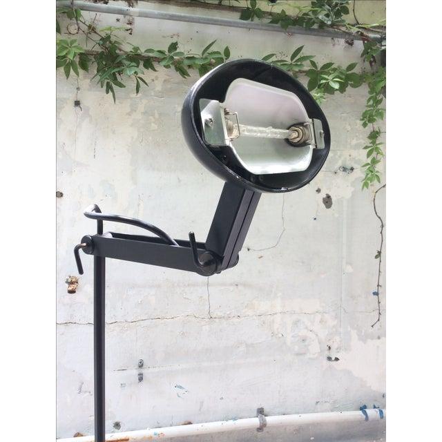 Italian Hi-Tech Adjustable Designer Floor Lamp - Image 5 of 7