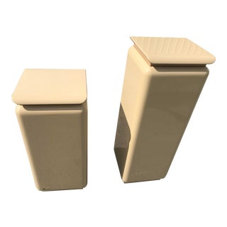 Mid Century Modern Rougie Pedestals- a Pair For Sale