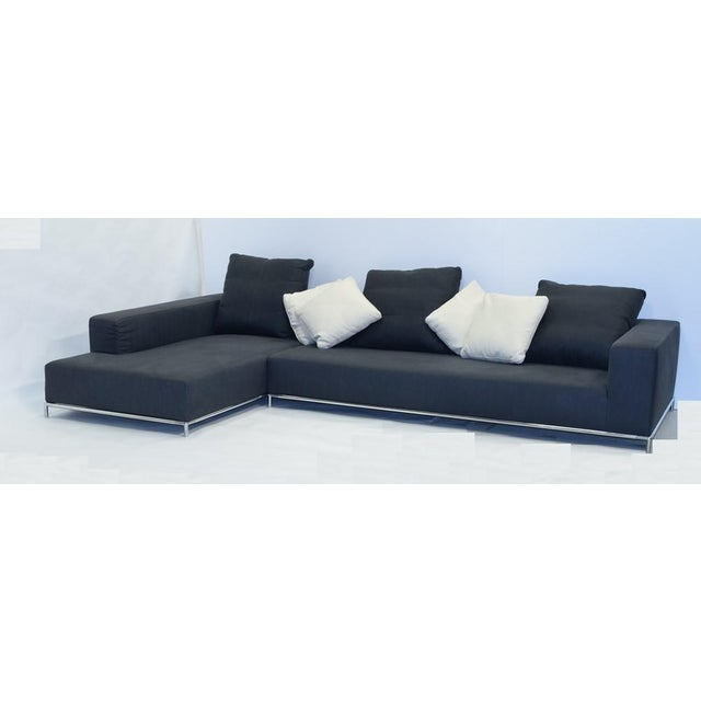 21st Century Antonio Citterio for B&b Italia Two-Piece George Sectional For Sale - Image 10 of 10