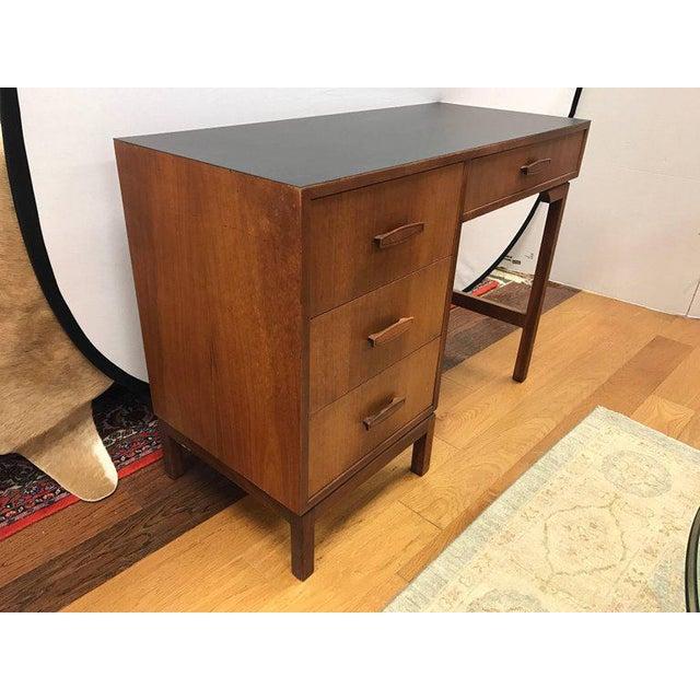 Mid-Century Modern Danish Walnut Writing Desk For Sale - Image 4 of 4