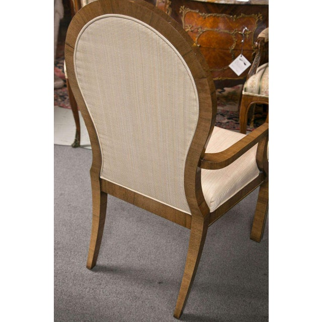 Mastercraft Art Deco Dining Chairs - Set of 6 For Sale - Image 9 of 10
