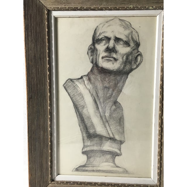 Academy Style Charcoal on Paper For Sale In Philadelphia - Image 6 of 9