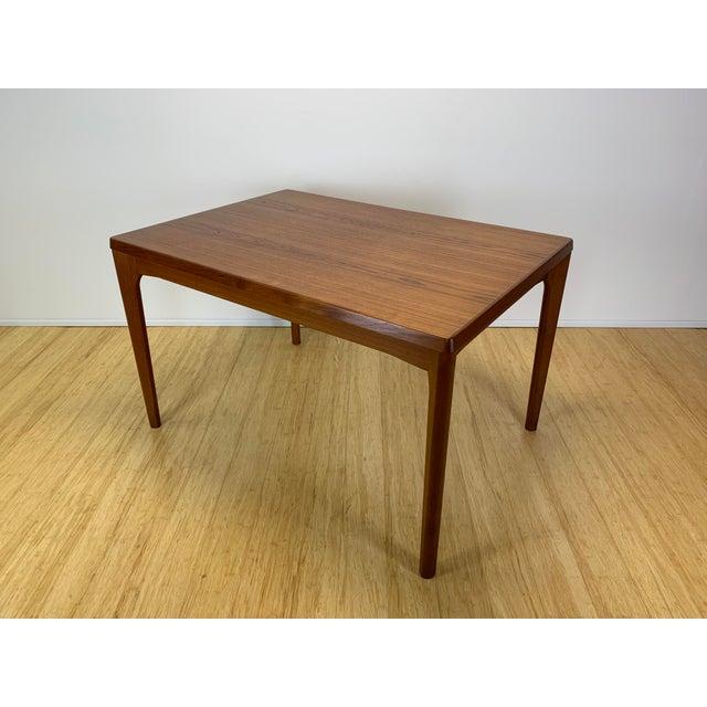 1960s 1960s Danish Modern Henning Kaerjnulf for Vejle Stole + Møbelfabrik Teak Dining Table For Sale - Image 5 of 11