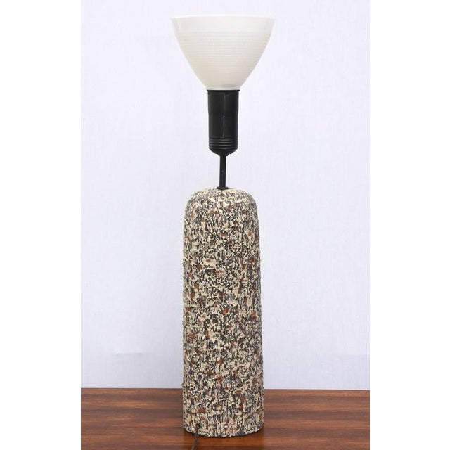 Sargeri Beautiful Sargeri Ceramic Mid-Century Modern Lamp, 1950s, Usa For Sale - Image 4 of 9