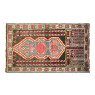 "Nalbandian - 1970s Afghan Baluch Rug - 2'7"" X 4'7"" For Sale"