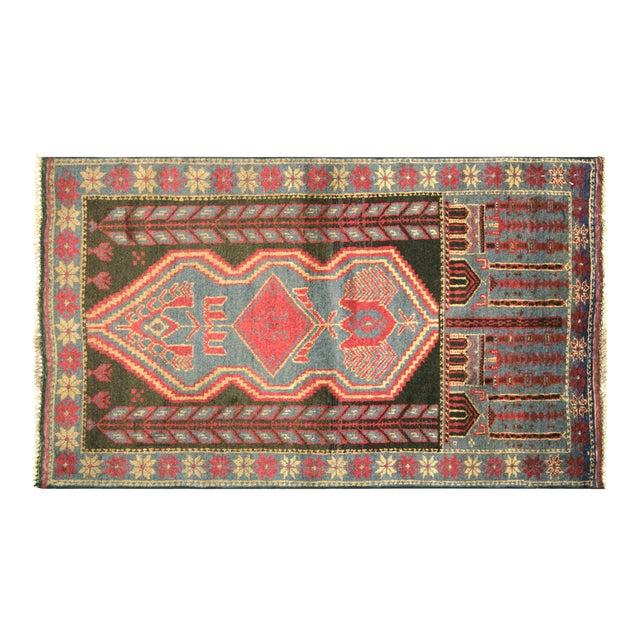 "Nalbandian - 1970s Afghan Baluch Rug - 2'7"" X 4'7"" For Sale"