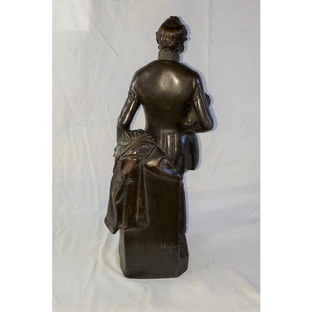 Franz Hogler, Bronze Statue (of probably Count Joseph Radetzky ( Austrian, 1766-1858) based on the research that was...