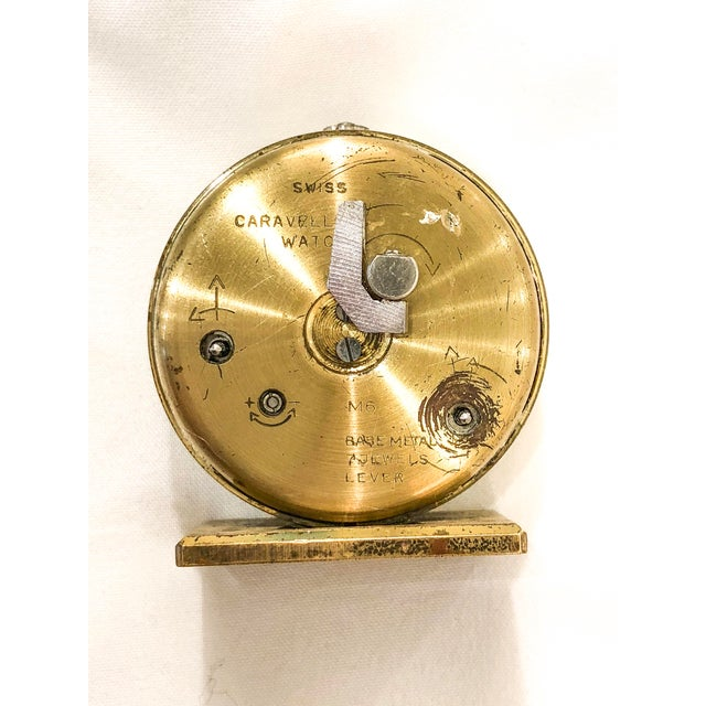 Small Swiss Caravelle Clock - Image 6 of 8