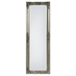 Mayfair Belle Antique Silver Full Length Mirror For Sale