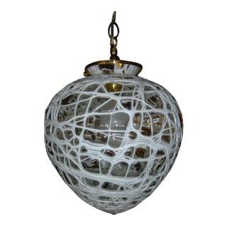 Mid-Century Modern Hanging Globe Lamp Mr7050