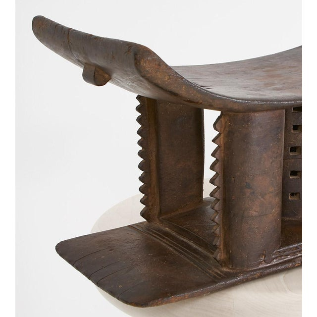 Folk Art 19th Century Asante Stool For Sale - Image 3 of 6