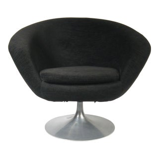Vintage Swedish Swivel Pod Chair For Sale