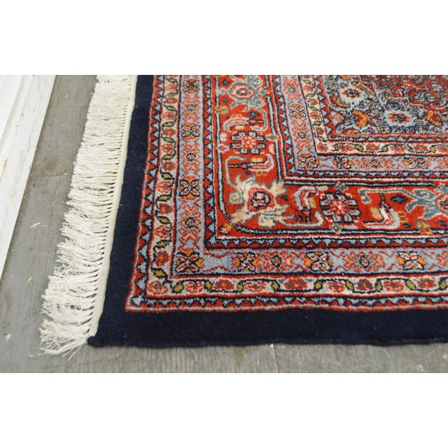 Farahan Sarook Blue Hand Knotted Persian Oriental Room Size Rug Carpet -- 9' x 11' - Image 10 of 10