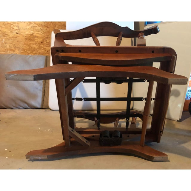 Wood Mid-Century Modern Rocking Chair For Sale - Image 7 of 8