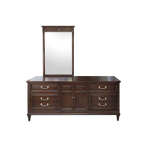 Mid Century Modern Martinsville Restored Dresser With
