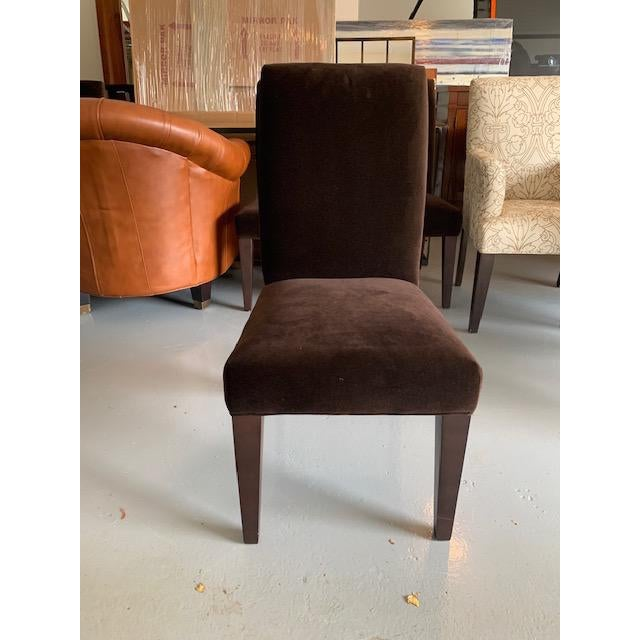 Brown Mitchell Gold Dining Chair For Sale - Image 8 of 8