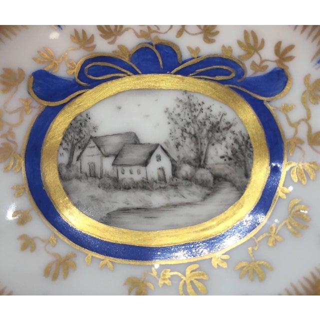 Nymphenburg Porcelain 19th Century Nymphenburg Master Salt Cellars, Pair For Sale - Image 4 of 10