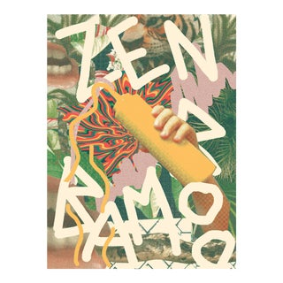 2017 Contemporary Music Poster, Zen Bamboo For Sale