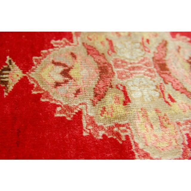 "Antique Turkish Prayer Rug - 3'2"" x 4'11"" For Sale - Image 5 of 5"