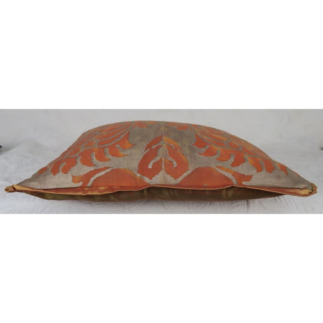 Traditional Pair of Fortuny Accent Pillows For Sale - Image 3 of 5