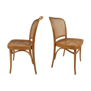 Josef Hoffmann for Thonet Chairs, Pair For Sale