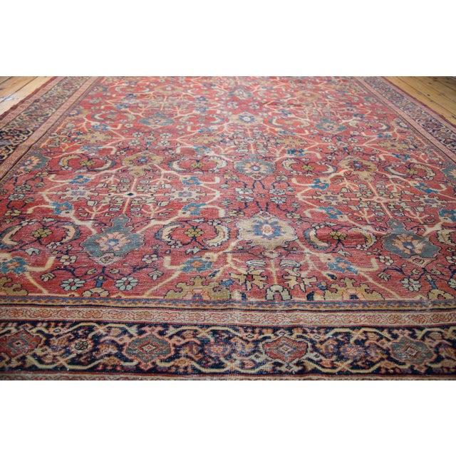 "Antique Persian Mahal Carpet - 7'1"" x 10'1"" - Image 7 of 9"
