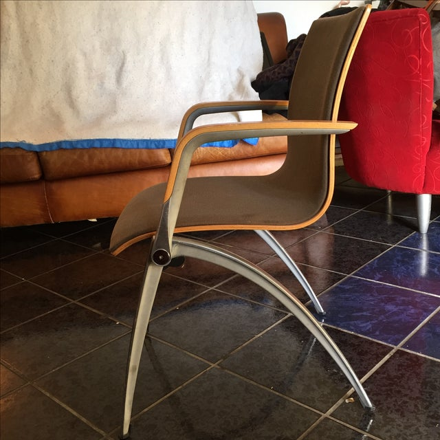Davis Furniture Industries Brown Chairs - A Pair - Image 5 of 11