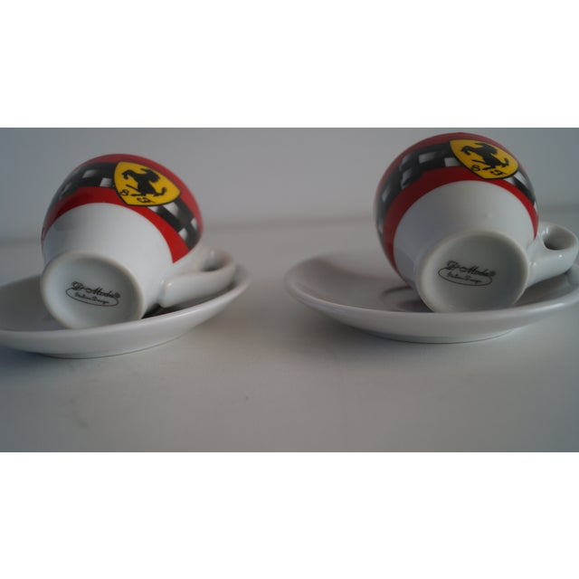 Modern Vintage Mid Modern Espresso Cups - a Pair For Sale - Image 3 of 5