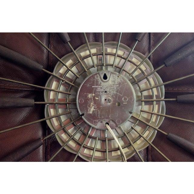 1950s Robertshaw Lux Starburst Clock For Sale - Image 5 of 5