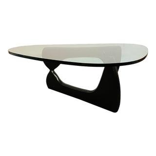 Isamu Noguchi Black Finish Coffee Table For Sale