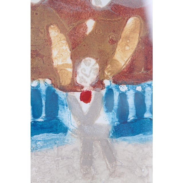 Original Etching Titled Le Rendez-Vous by Theo Tobiasse For Sale In Dallas - Image 6 of 13