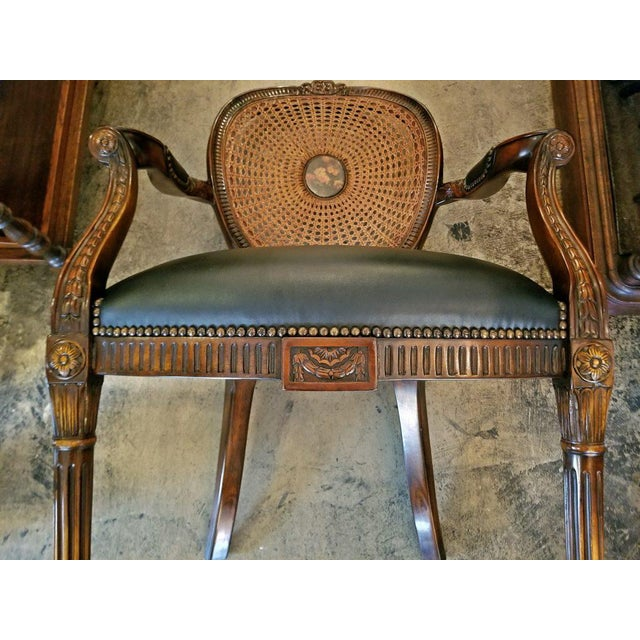 Theodore Alexander French Bergere Chair by Theodore Alexander For Sale - Image 4 of 9