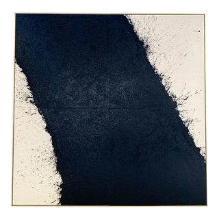 "John O'Hara. Tar, 44. 97.5x97.5"" Quadriptych Encaustic Painting For Sale"