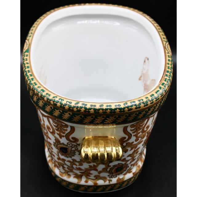 1970s Chinese Porcelain Foot Bath For Sale In Tulsa - Image 6 of 10