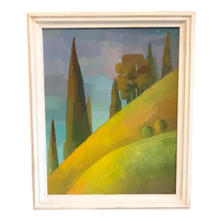 Russian Landscape Painting For Sale