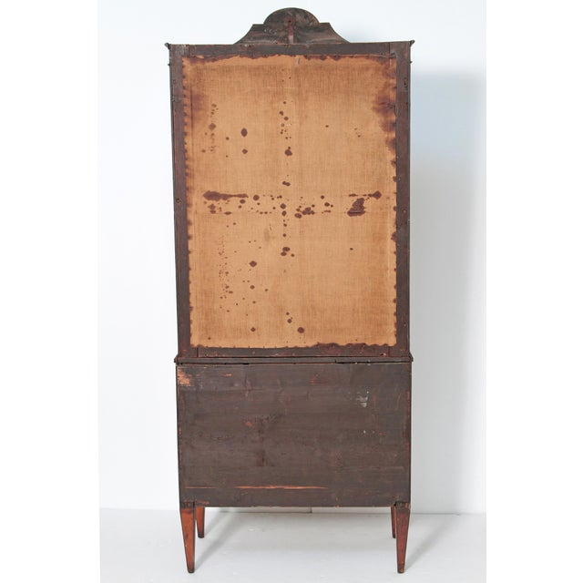 George III Satinwood and Inlaid Bookcase Attributed to Gillows For Sale - Image 11 of 13